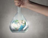 Exploration de monde et de planète Photos stock