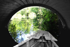 Exploration de nature de bateau Photo stock