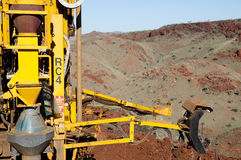 Exploration drilling - Australia Stock Photos