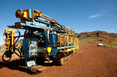 Exploration drilling - Australia Royalty Free Stock Images