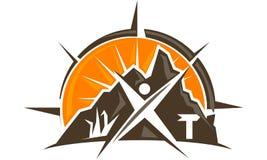 Exploration Logo Design Template de faune illustration stock