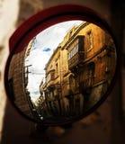 Exploration through a Mirror Stock Image