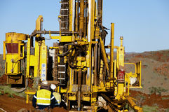 Exploration RC Drilling Royalty Free Stock Image