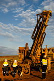 Exploration RC Drilling Royalty Free Stock Photography