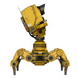 Exploration robot Stock Photography