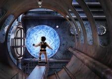 Exploration sous-marine illustration de vecteur