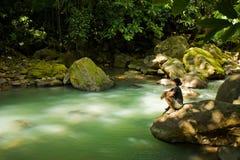 Explorations du Dominica images libres de droits