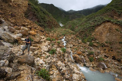 Explorations du Dominica photographie stock