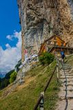 Exploratory tour through the beautiful Appenzell mountain region, Switzerland, royalty free stock photo