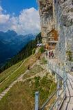 Exploratory tour through the beautiful Appenzell mountain region, Switzerland, stock photos