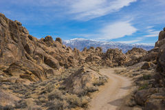 Explore California`s Alabama Hills Royalty Free Stock Images