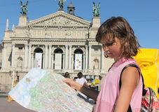 Explore the city on a paper travel guide