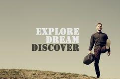 Explore Dream Discover Royalty Free Stock Photos