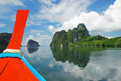 Explore islands of Thailand Royalty Free Stock Photography
