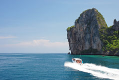 Explore Koh Phi Phi island in Thailand Stock Photography