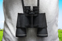 Explorer Binoculars Royalty Free Stock Photography