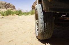 Explorer le désert Photographie stock