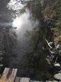 Explorer le paysage pendant une hausse de région sauvage de kamloops images stock