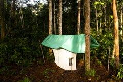Explorer's camp Royalty Free Stock Image