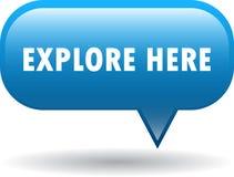 Explorez ici le bouton de Web illustration libre de droits