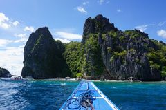 Exploring the beauty of wild nature in Philippines Royalty Free Stock Photography