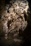 Natural landscape image of cave cavern stock image