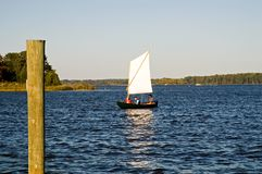 Exploring on the Chesapeake Bay Stock Photography