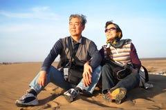 Exploring the desert Stock Photos