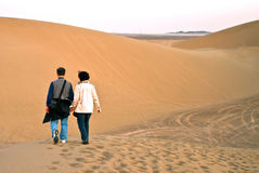 Exploring the desert Royalty Free Stock Photography