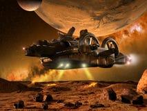 Free Exploring Far Planets Royalty Free Stock Image - 20416866