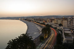 Exploring the French Riviera in Nice Royalty Free Stock Image