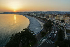 Exploring the French Riviera in Nice Stock Photography