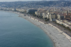 Exploring the French Riviera in Nice Stock Image