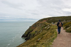 Exploring Howth peninsula Stock Images