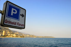 Exploring the Principality of Monaco Royalty Free Stock Photography