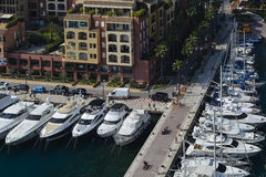 Exploring the Principality of Monaco Royalty Free Stock Image