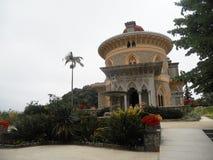 Exploring Sintra, Palace of Montserrat stock images