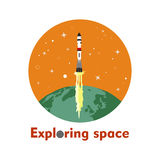 Exploring space Stock Photography