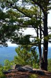 View from stone mountain Stock Photo