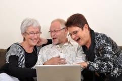 Exploring the web Royalty Free Stock Photo