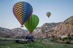 Cappadocia region ,Goreme,  Turkey Royalty Free Stock Image