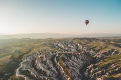 Cappadocia region ,Goreme,  Turkey Royalty Free Stock Photo