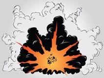 Explosão Fotos de Stock Royalty Free