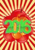 explosão 2016 Imagens de Stock Royalty Free