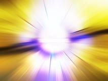 Explosão abstrata Imagens de Stock Royalty Free