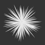 Explosão abstrata da estrela Imagens de Stock Royalty Free