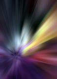 Explosão colorida ilustração do vetor
