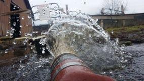 Explosão da água Fotografia de Stock
