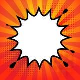 Explosão da banda desenhada ilustração do vetor