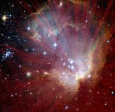 Explosão da estrela Imagem de Stock